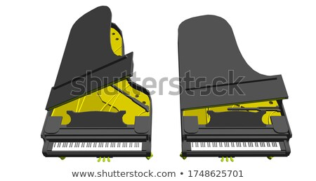 Gland piano Stock photo © zzve