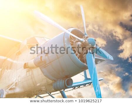 Historic plane Stock photo © hraska