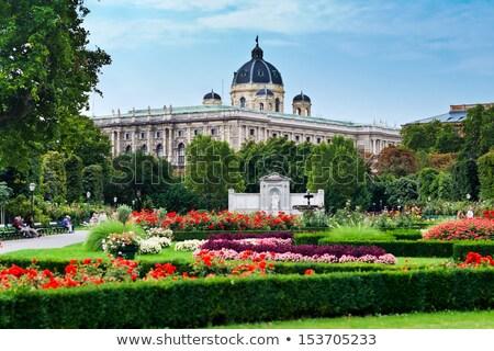 роз Вена цвести природного история музее Сток-фото © sarahdoow