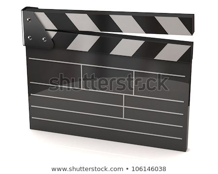 film clapperboard with clipping path stock photo © sqback