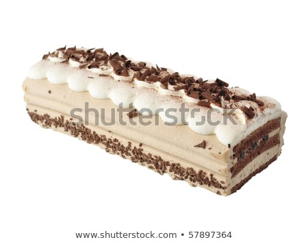 cappuccino cream cake stock photo © saddako2