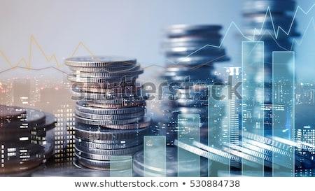抽象的な · 通貨 · シンボル · お金 · 背景 · 黒 - ストックフォト © fenton