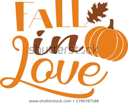 Pumpkin Love Stock photo © soupstock
