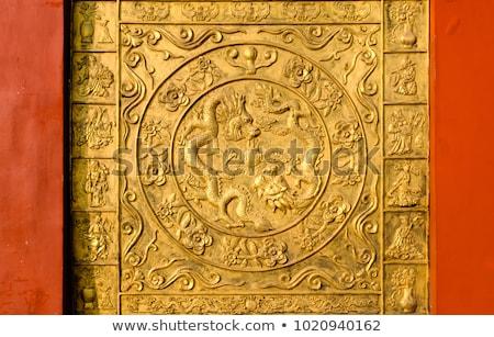 традиционный · китайский · каменные · лев · нет · авторское · право - Сток-фото © bbbar