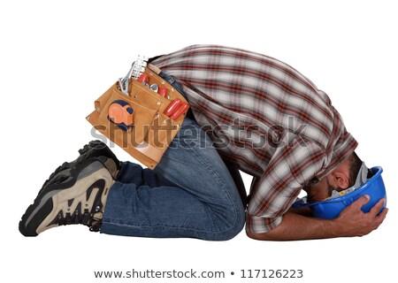sobrecarregado · trabalhador · negócio · homem · trabalhar · empresário - foto stock © photography33
