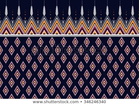 幾何学的な · パターン · 青 · 紫色 · テクスチャ - ストックフォト © creative_stock