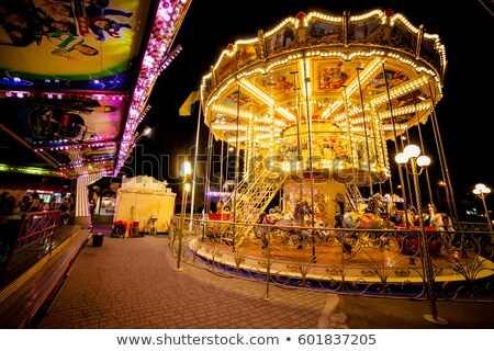 Childrens Carousel Stock photo © cosma