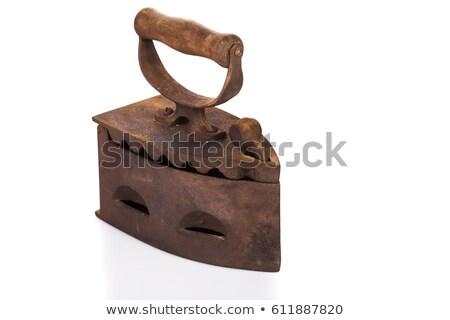 古い 鉄 ヒンジ 金属 ドア 歴史的 ストックフォト © Mps197