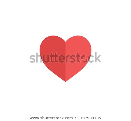 two paper hearts Stock photo © enlife