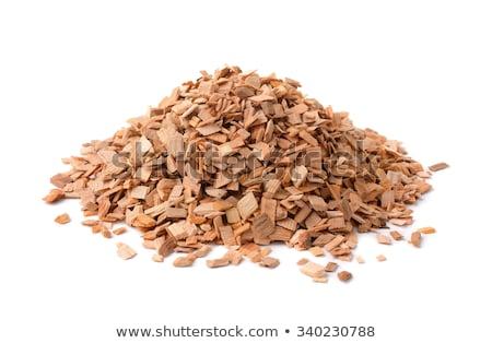 Woodchips background Stock photo © olandsfokus