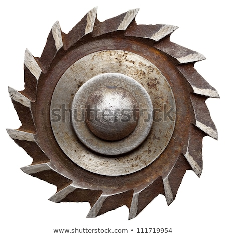 Rusty saw blade background Stock photo © lucielang
