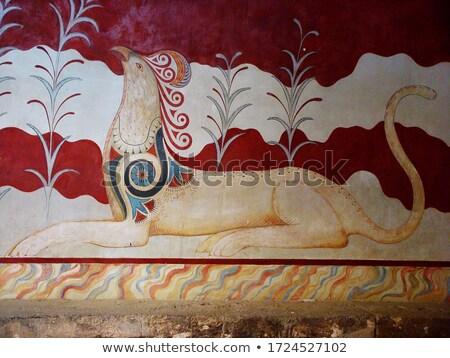 ősi · helyszín · Görögország · palota · szertartásos · politikai - stock fotó © igabriela