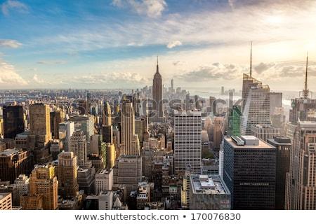 New · York · taksi · sarı · çatı · imzalamak - stok fotoğraf © andreykr