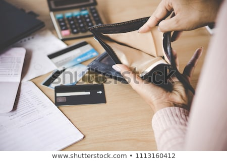 Bankrupt on calculator Stock photo © fuzzbones0