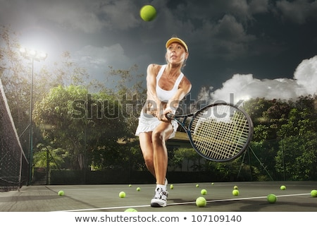 tennis club cap stock photo © leonardo