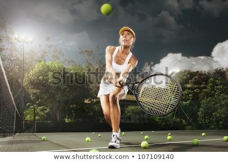 Tennis club cap vecteur eps 10 Photo stock © leonardo