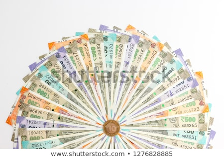 Close-up of One Thousand Indian Banknote Stock photo © imagedb