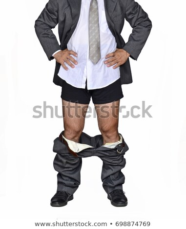 Business man pants down stock photo © fuzzbones0
