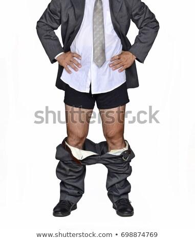 Stock photo: Business man pants down