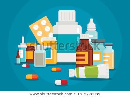 Curare farmaceutica prescrizione Foto d'archivio © Lightsource