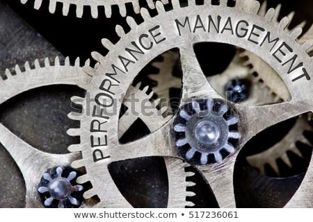 Management - Performance on Metal Gears. Stock photo © tashatuvango