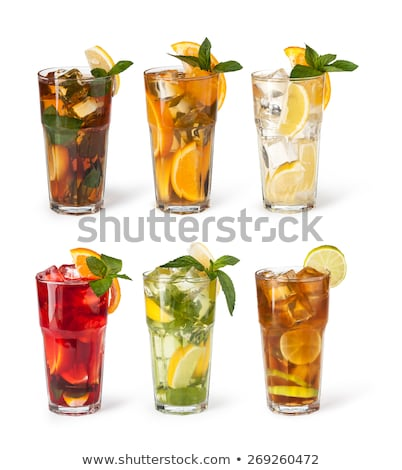 Variety of iced drinks Stock photo © Digifoodstock
