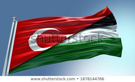 Turkey and Western Sahara Flags Stock photo © Istanbul2009