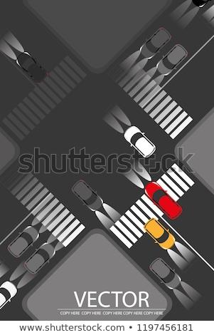 車 道路 ジャンクション フォーカス 速度 行 ストックフォト © Paha_L