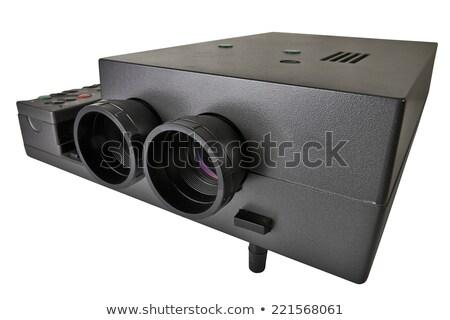 multimedialnych · projektor · edukacji · ekranu · wideo · korporacyjnych - zdjęcia stock © paha_l