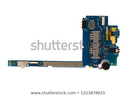 disassembly smartphone isolated on white background Stock photo © traza