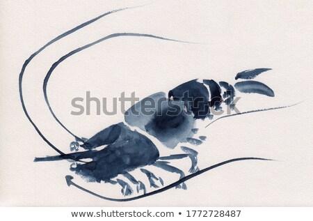 ロブスター 海洋 食品 実例 勾配 ストックフォト © ConceptCafe