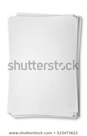 printer · schone · vel · geïsoleerd · witte - stockfoto © kayros