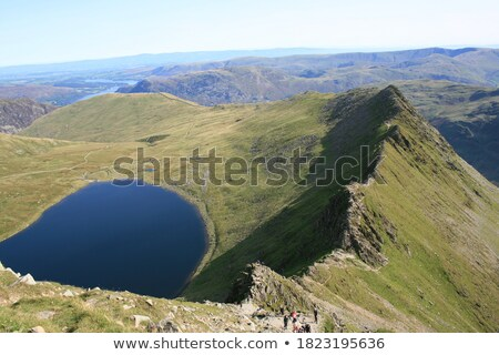 Striding Edge From Helvellyn Stock photo © peterguess