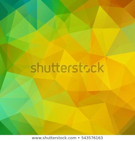 Yeşil perspektif mozaik arka plan Stok fotoğraf © SArts