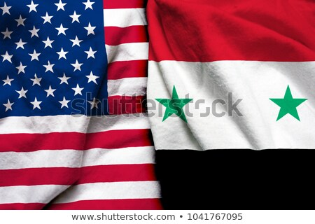 A boxing match between the USA and Syria Stock photo © Zerbor