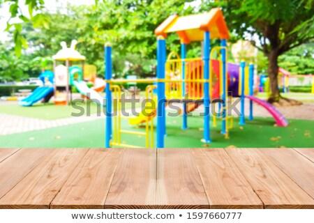 таблице площадка изображение Nice фотография Сток-фото © deandrobot