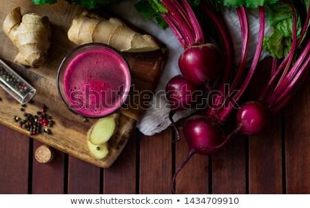 ビートの根 スムージー ジュース 新鮮な 健康 ストックフォト © M-studio