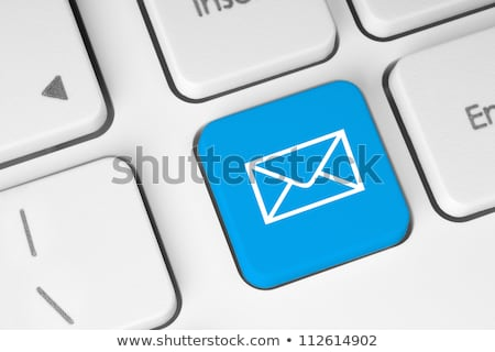 computer keyboard blue contact 2 stock photo © oakozhan