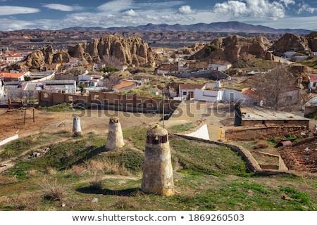 村 · スペイン · 写真 · hdr · 空 · 自然 - ストックフォト © compuinfoto