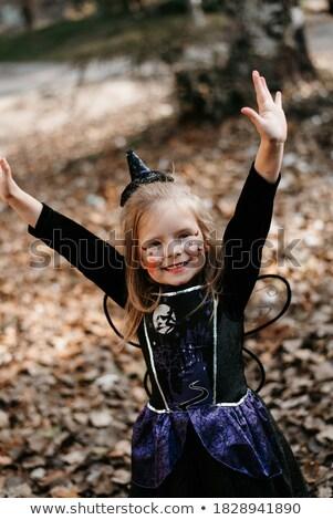 インドネシアの 少年 少女 黒 実例 ストックフォト © bluering