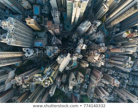 Modernes ville différent télécommande Skyline Photo stock © Jesussanz