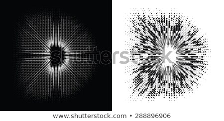 Spot the difference letters d Stock photo © Olena