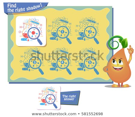 science day find right shadow  Stock photo © Olena