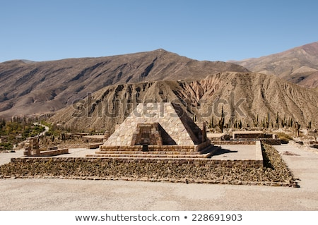 Pukara de Tilcara, Argentina Stock photo © daboost