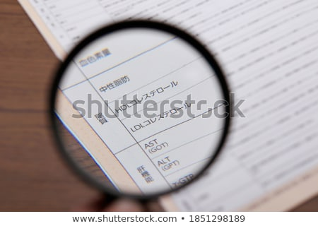 Cholesterol Medical Diagnosis Stock photo © Lightsource