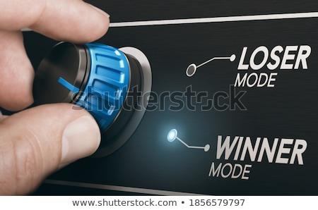 Positive Image - Business Mode Concept. 3D. Stock photo © tashatuvango