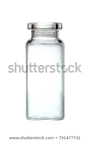 Medical vials with clear liquid Stock photo © Klinker
