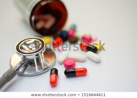 Drogok gyógyszer recept gyógyszeripari előírás szerinti orvos Stock fotó © Lightsource