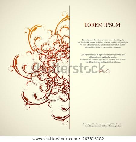 Koninklijk tekst ruimte abstract ontwerp Stockfoto © SArts