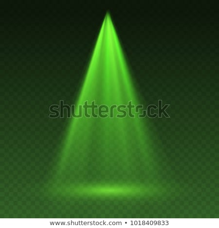 Hologram projector template. Rays of light. Vector illustration Stock photo © MaryValery